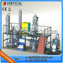 VTS-DP Waste engine oil distillation machine, Engine oil refining plant, Used oil recycling refineries