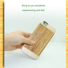 2014 new arrive new trend fashion wood metal case for iphone 6 plus 5.5 inch