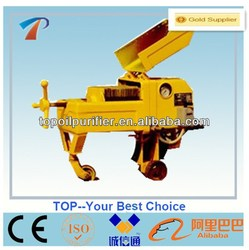 Manually board frame portable oil filtering machine, removal of water and particulate,small size