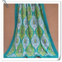 Popular Fashion Cotton Soft Velvet Pile Custom Printed Adult Beach Towel