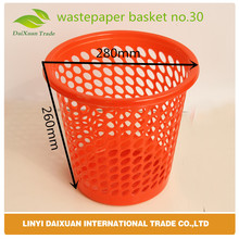 Big Office And Hotel Used Plastic Colored Cheap Dustbin