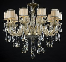 In 2015, the new elegant high-end fashion led crystal chandelier sitting room