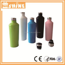 Stainless steel double wall insulated wine bottle keeping wine cold