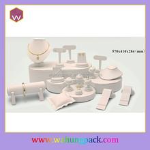 diy velvet jewelry set display stand ,welcom custom, accept paypal