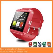 U8 0001 waterproof wrist watch mobile phone ,IOS and android smart watch phone