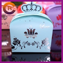 2015 New Design Folding Paper Gift Carton Jewelry Recycled Kraft Packaging Paper Box Manufacturer