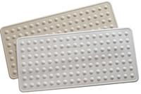 Adhesive Anti Slip Non Skid Safety Bath Mat With Drain