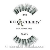 Walmart Supplier top grade red cherry lashes eyelashes made in indonesia
