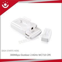 300Mbps WC710 2.4GHz 5GHz Outdoor Wireless CPE With build-in amplifier