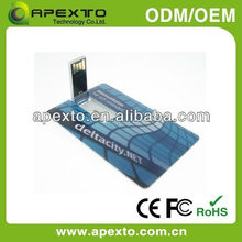 Will You Purchase it for Promotion? Then our business card usb flash drive will be Your Right Choice (U-504E)