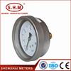 high quality oil filled bourdon tube pressure gauge