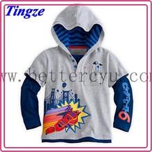 2015 children clothes export factory Big hero baby kids cartoon character printed t-shirt HZB10
