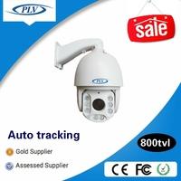 Best price 800tvl cmos cctv analog intelligent ir high speed dome auto motion tracking ptz camera