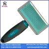 (M) PR80041-2 dogs grooming products pet pin brush with rubber pad