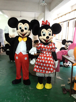 Mickey & Minnie's mascot costume suit inexpensive cheap