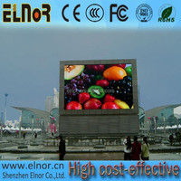 Good price double sided led sign board P10 outdoor waterproof LED panel screen