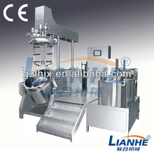 Industrial Pharmaceutical Mixers, Vacuum- Emulsifying Mixer with PLC System