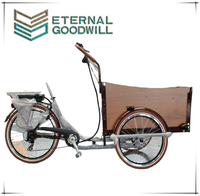 UB 9032E electric assist pedal cargo bike/cargo trike 6 speeds