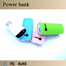 Colorful Mobile Phone Power Bank 5600mAh Universal 8400mAh Portable Power Bank for Smartphone and Digital Products