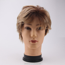 Wholesale High Quality Blond Toupee Brazilian Human Hair Toupee for Men