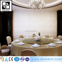 manufacturer d Enviormental embossed decorative home items 3d wall paper