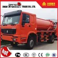 China 8 T vácuo caminhão de sucção de esgoto