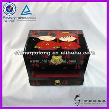Beautiful Jewelry Antique Chinese Treasure Crate for Wedding