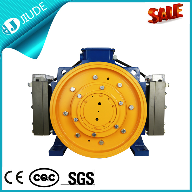 Home Elevator Use Gearless Electric Elevator Motor View