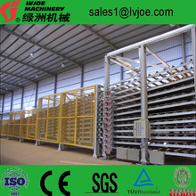 China new hot air type durable gypsum board equipment/plasterboard plant/plaster board line for wall building