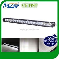 "23.5"" 100W light bar For Truck, Off Road, ATV, Vehicle, Minging, Auto Lamp LED"