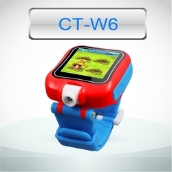electronic kids smart watch with color screen, muti-functions , plastic kids smart watch