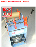 high quality bowl sealer/ auto cup sealing machine /cup filler