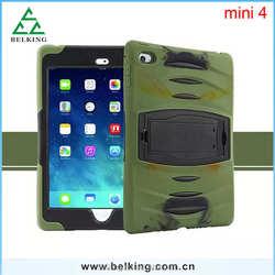 Hybrid Shockproof Case For Ipad Mini 4, Silicone Case For Ipad Mini 4 Hard Case