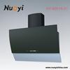 90cm glass kitchen chiminey hoods/ side out cooker range hoods/stove oven