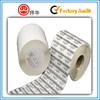 Matte White Ultra Destructible Vinyl Eggshell Paper Self Adhesive Labe Rolls