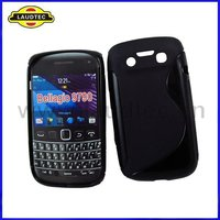 S Type,TPU Gel Case for Blackberry Bold 9790,S Line Wave Soft Case Cover