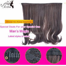 China wholesale indian hair top grade clip in hair extensions, buy brazilian hair