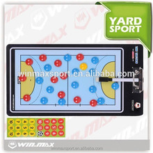 Winmax magnetic plastic basketball soccer volleyball coach clip/tactic Board for sport