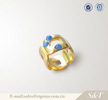Anillo de plata, anillo de plata esterlina 925 valor oro