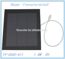 Hot Sale Solar Panel/Flexible Amorphous Solar Panel/Small Solar Panel