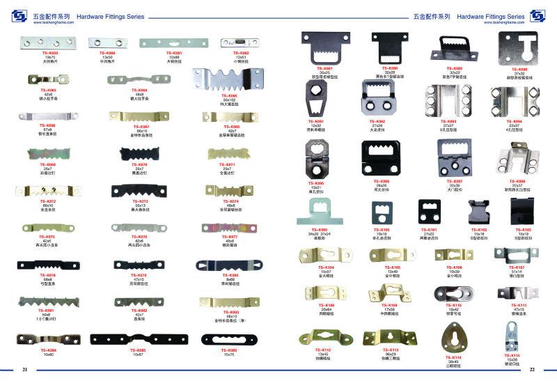 Strut Hinge G6234 Ts K221 19x29mm Picture Frame Hardware