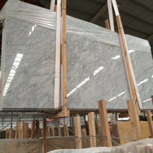 Competitive price italian white carrara marble slabs