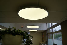 RGB 70W Round LED panel ceiling Light diameter 900mm China only manufacturer
