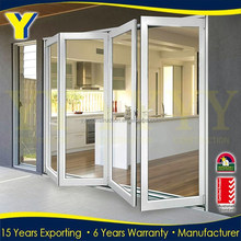 aluminium bifold screens / doors for houses /fold up garage doors