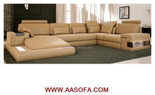 AASOFA best brand of sofa,modern cow leather sofas