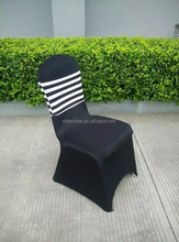 pleated spandex folding chair cover
