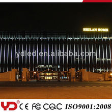 LED Building Facade Large Pixel Pitch waterproof led media facade