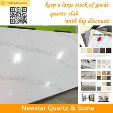 Newstar Polising Quartz Slab Quartz Shower Stone