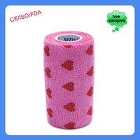 10cmx4.5m Patterned China Waterproof Camouflage Cohesive Bandage