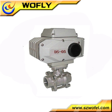 "G1/4"" thread air WCB electric ball valve"